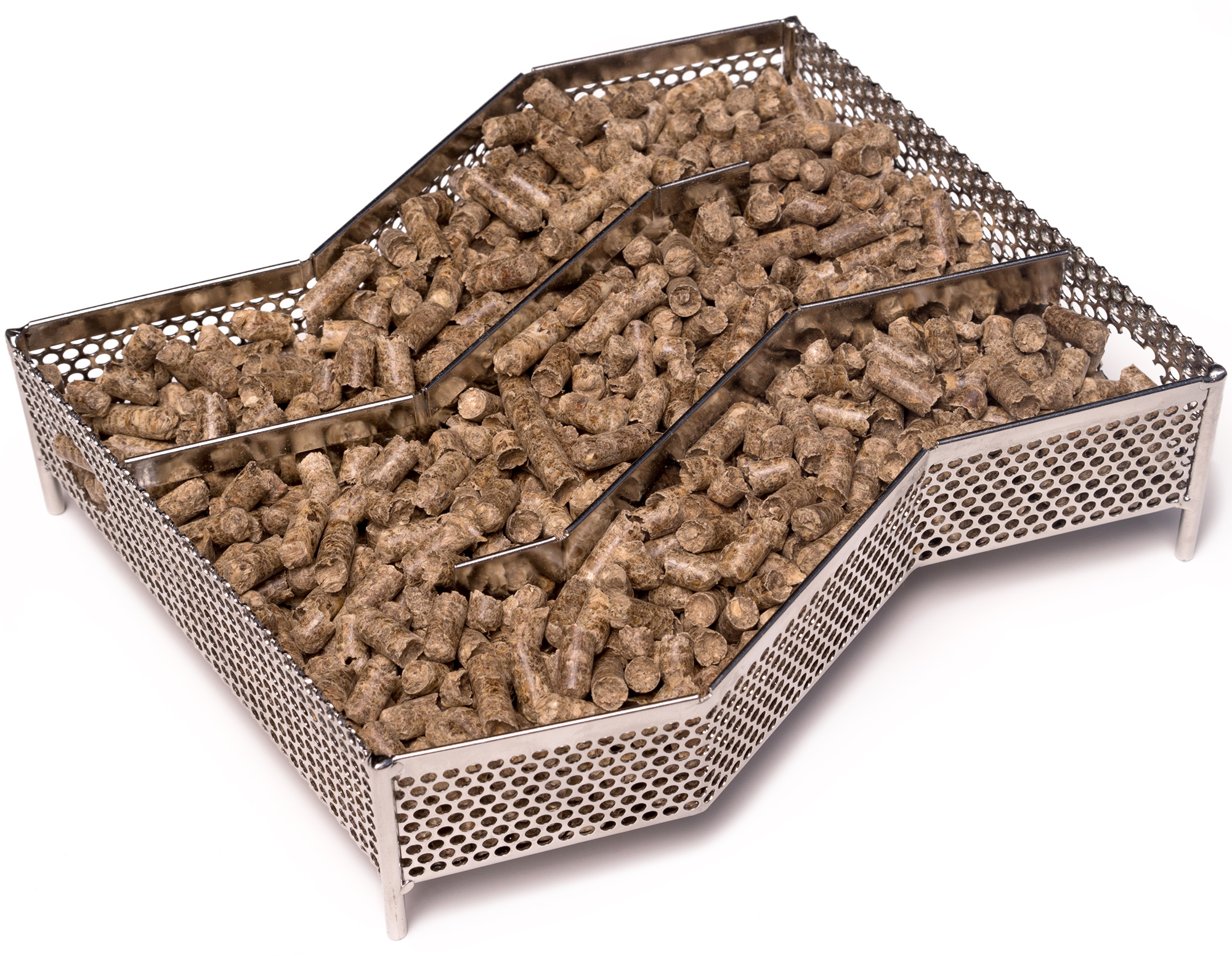 Kenley Wood Pellet Smoker - Cold Smoke Generator Box for ...