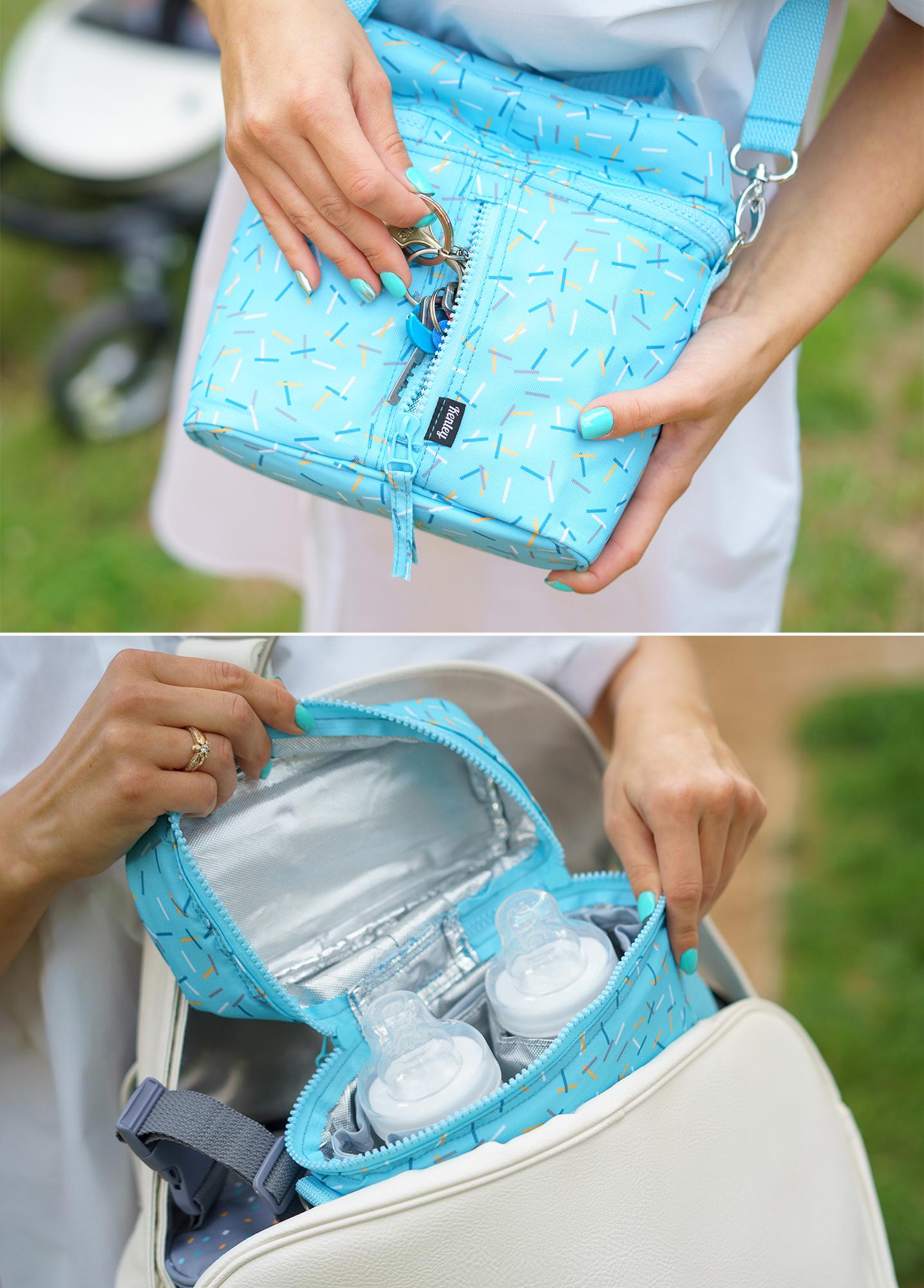 Kenley Thermal Breastmilk Bottle Bag Fits Tommee Tippee