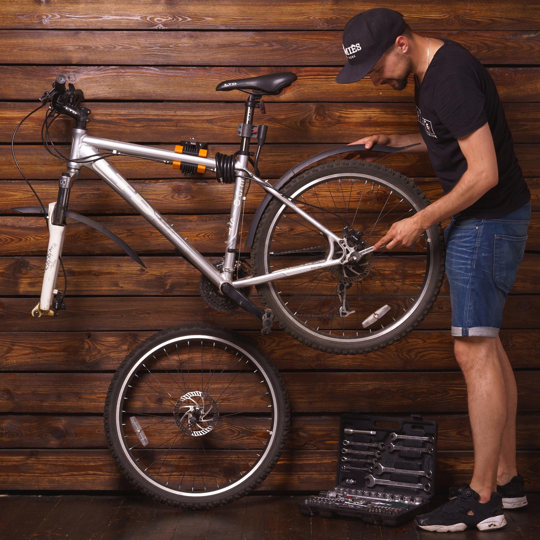 Powerfly Wall Mount Bike Repair Stand Bicycle Storage