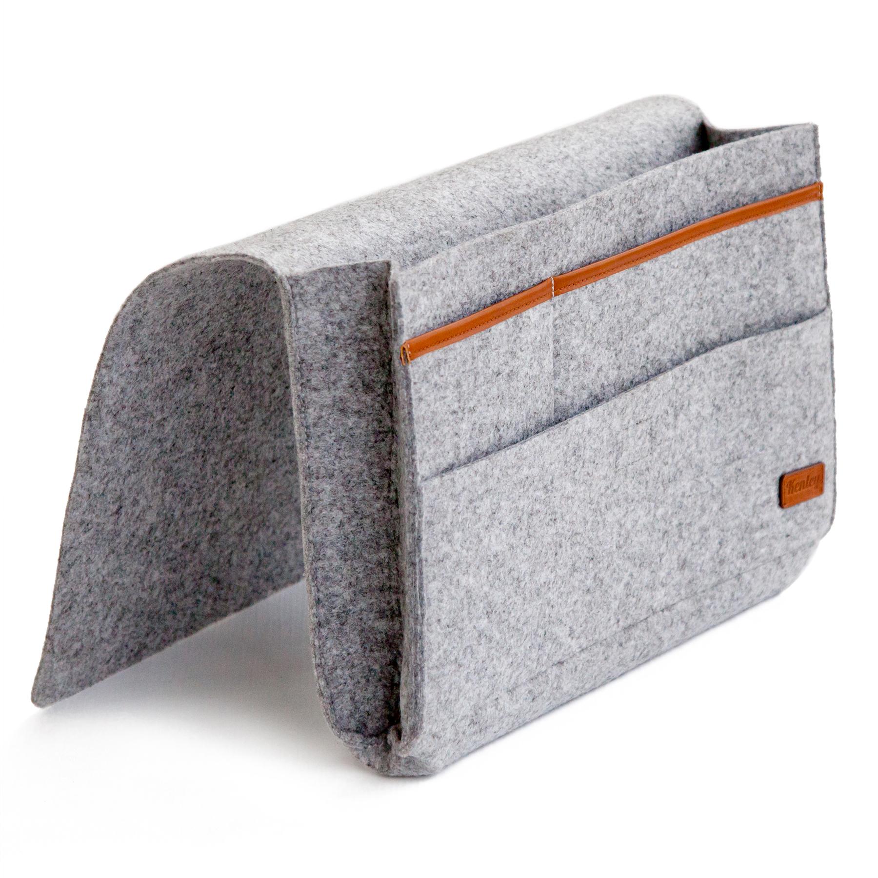 Kenley Bedside Storage Caddy Bed Tidy Pocket Organiser Bag