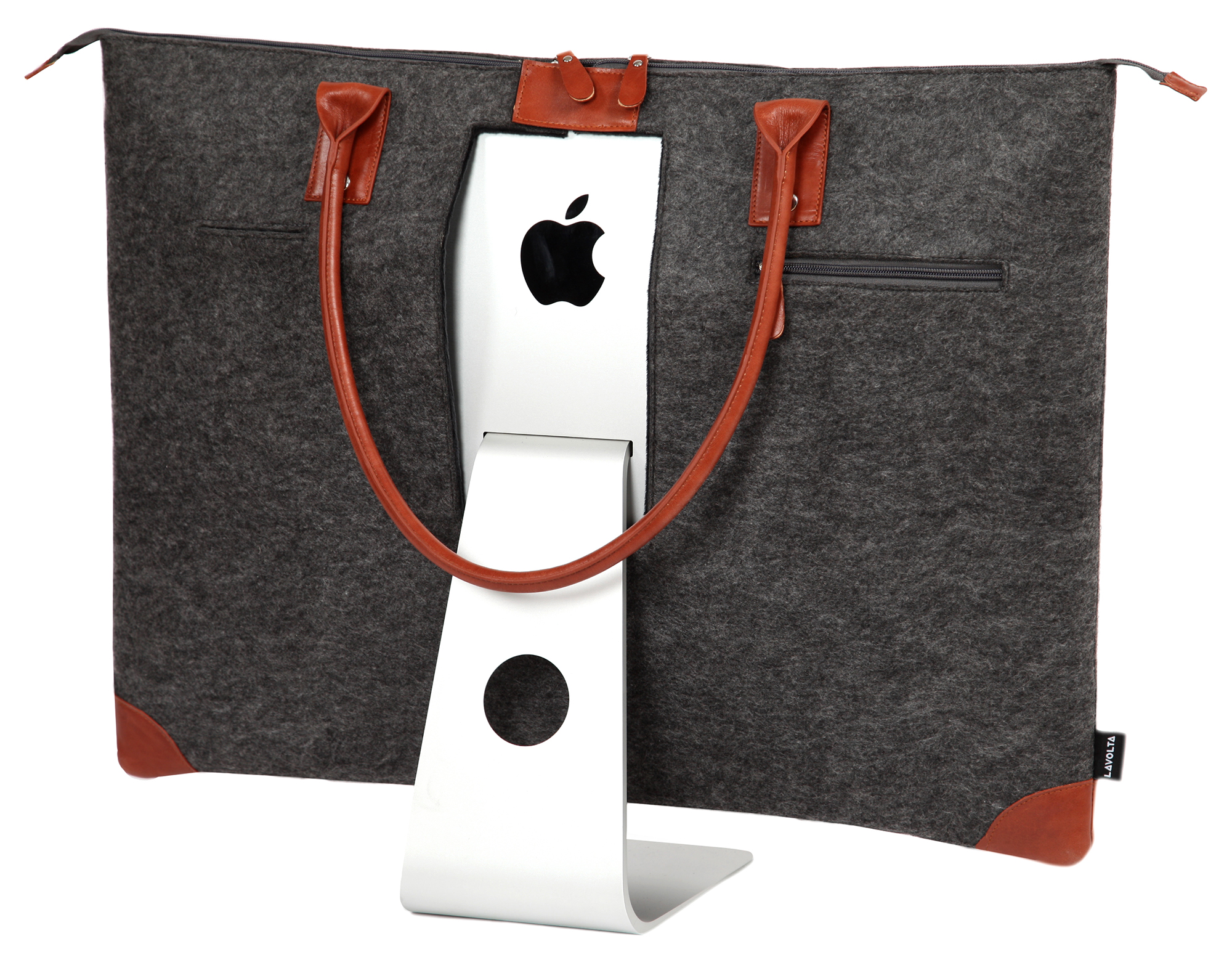 great fit 1b53f 21931 Details about Lavolta Carrying Case Tote Bag for Apple iMac 27 Inch Retina  5K - Leather & Felt