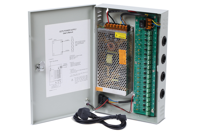 Nordstrand Cctv Camera Power Supply Distribution Box Unit