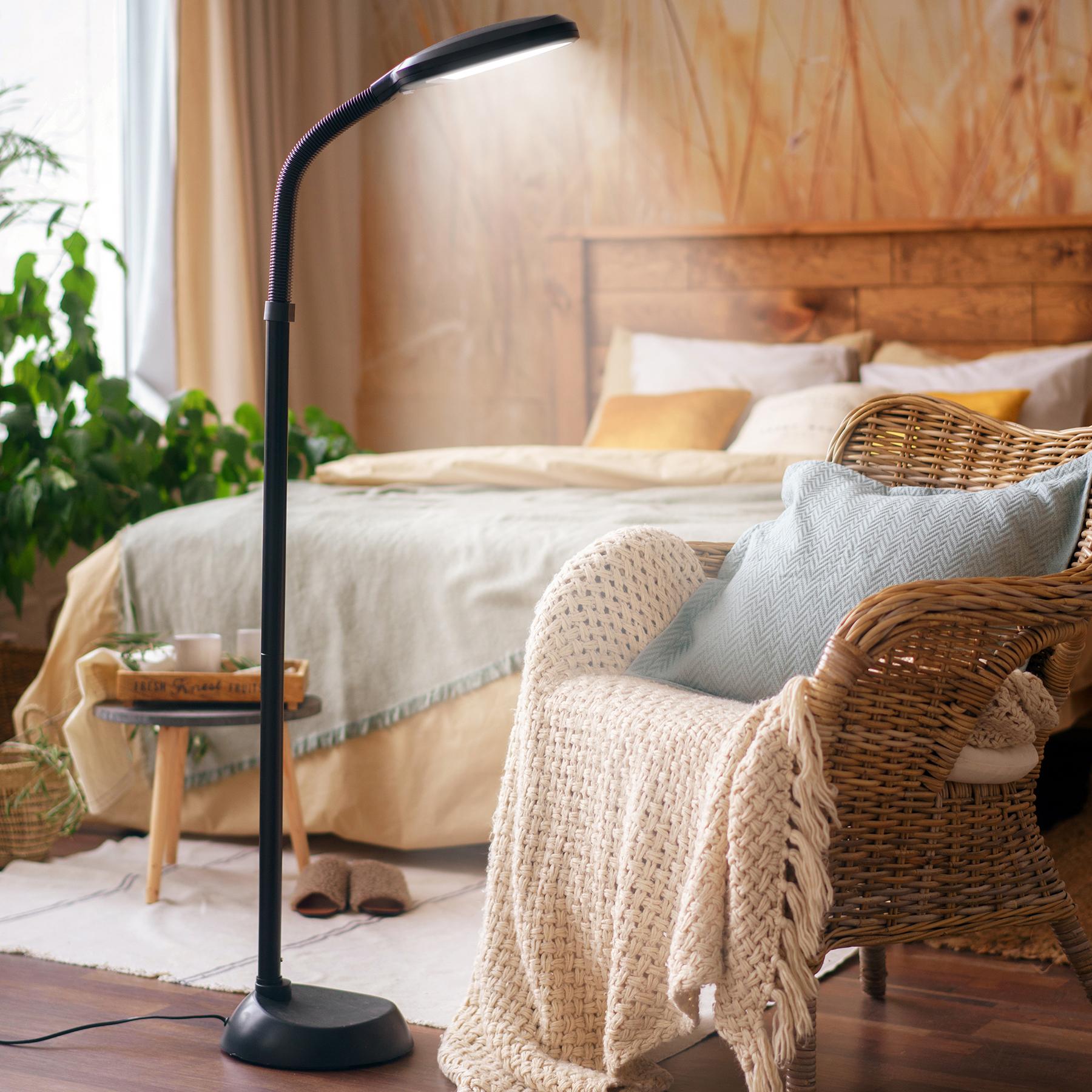 modern tageslicht lampe stehleuchte tageslichtlampe f r schlafzimmer wohnzimmer ebay. Black Bedroom Furniture Sets. Home Design Ideas