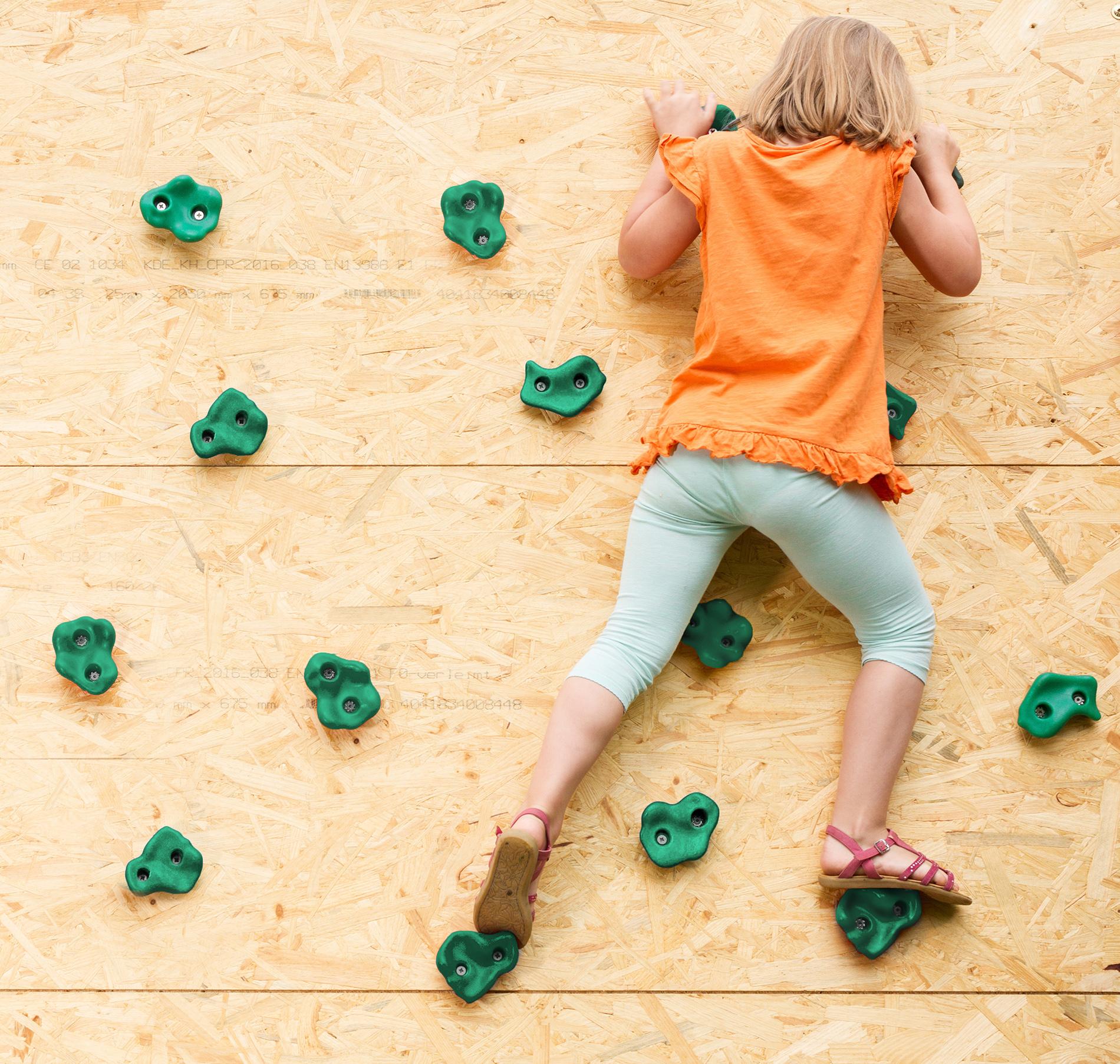 Powerfly prese arrampicata set per bambini 12 e 2 maniglie for Blocca maniglie bambini