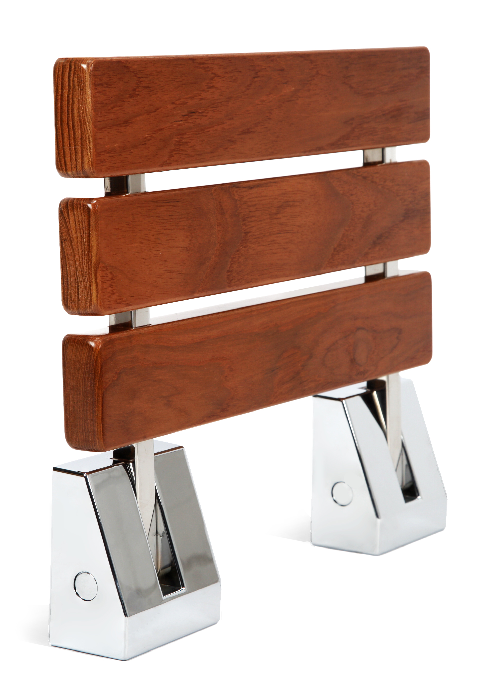 Kenley Folding Shower Seat Wooden Wall Mounted Bench ...