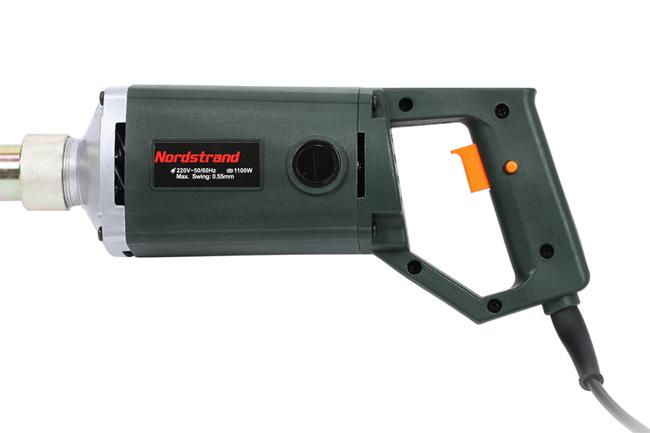 Handheld plate concrete vibrator commit