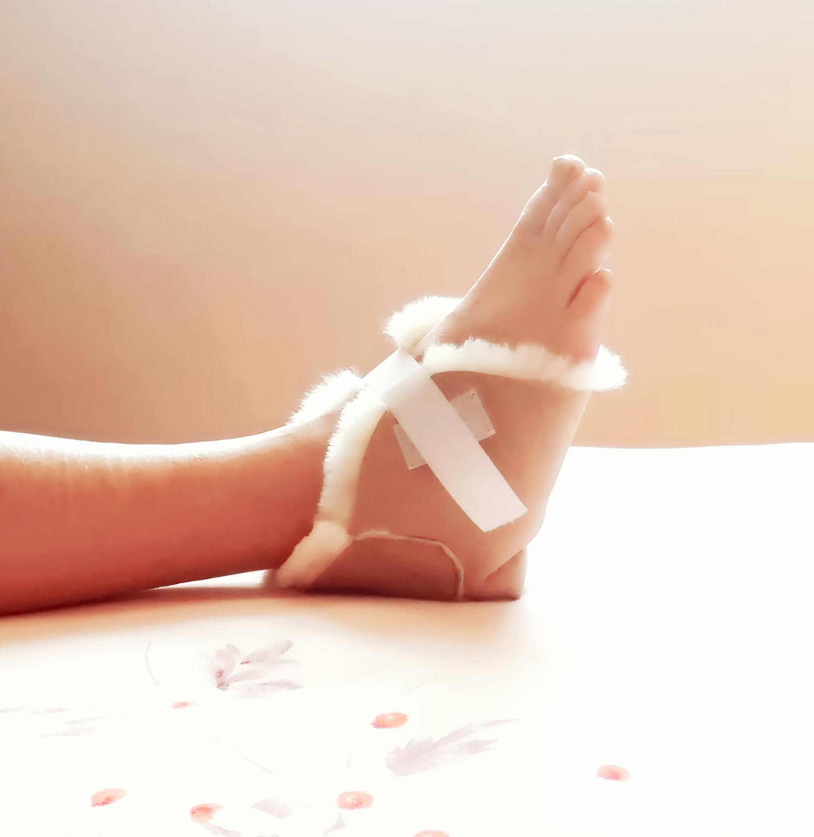 Kenley Sheepskin Heel Foot Protector Cushion Pad For