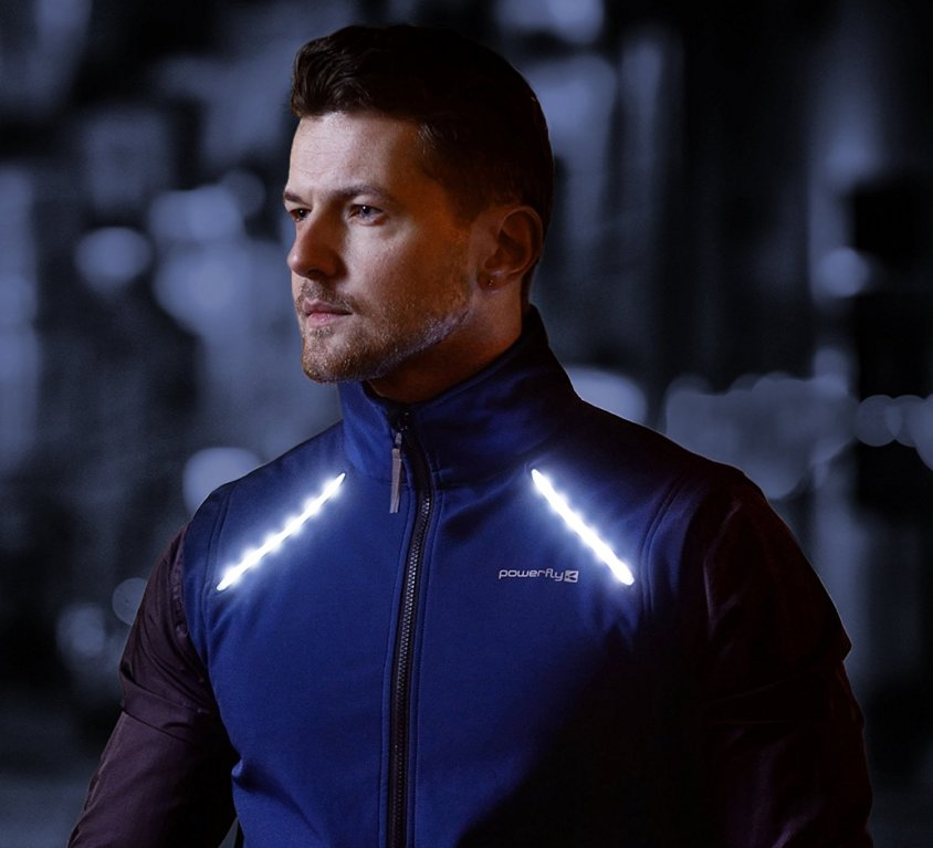 LED Cycling Vest