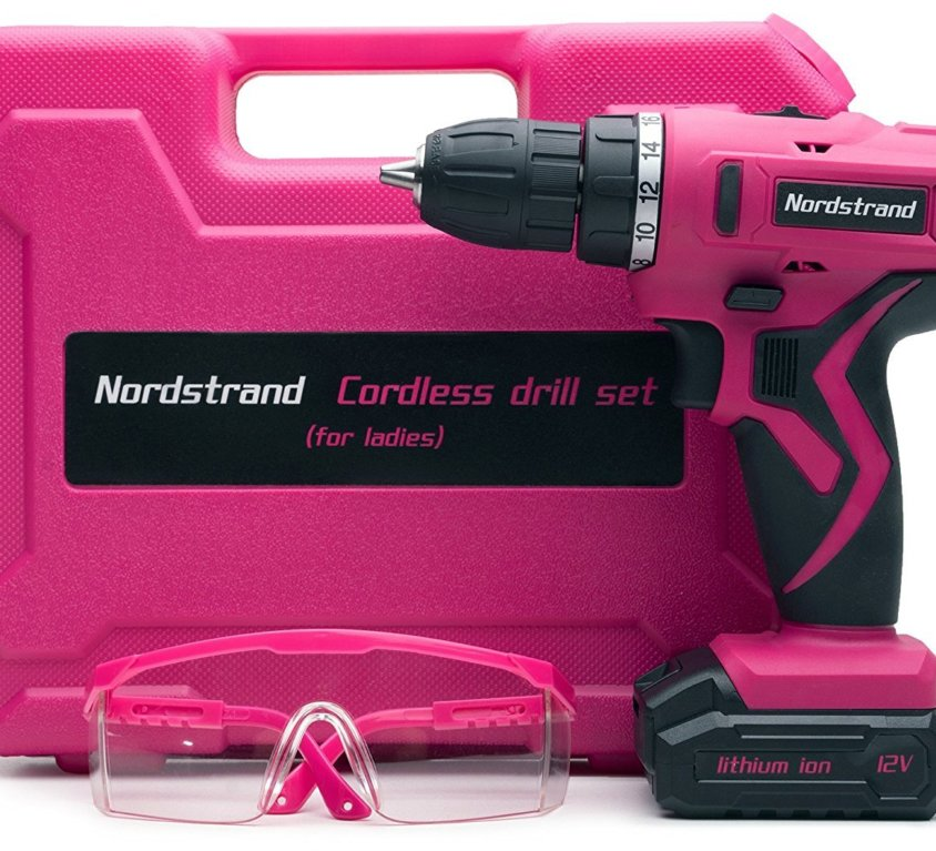 Cordless Drill Set for Women